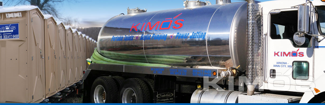 Kimos Septic Pumping and Portable Toilets